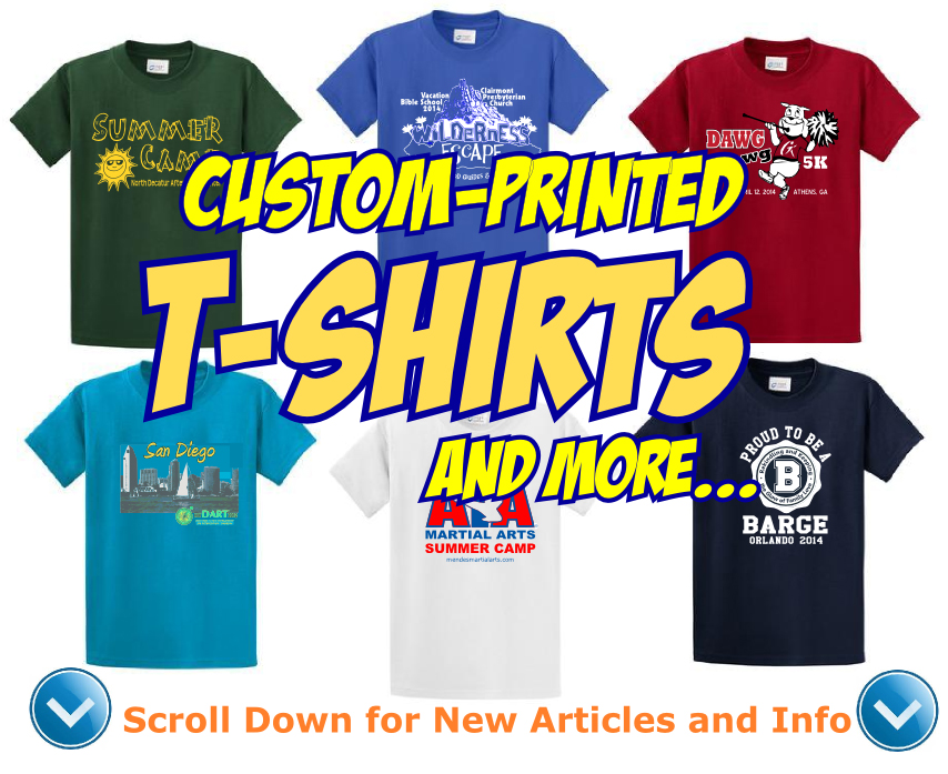Custom T-Shirts and moree...